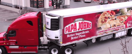 Papa John's Food Service Fleet Technology